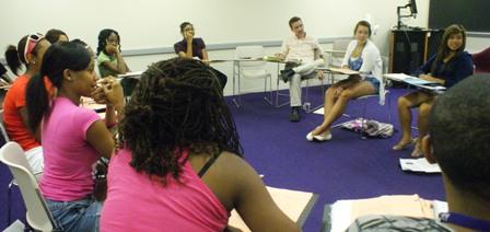 SEE Scholars with Dr. Royce Kallerud